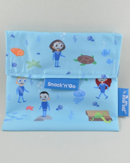 Porta snacks doble bolsillo Kids Ocean